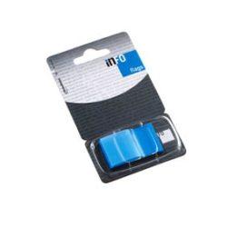 Oldaljelölő műanyag Info Notes Info Flag 25x43 mm 50 lapos kék