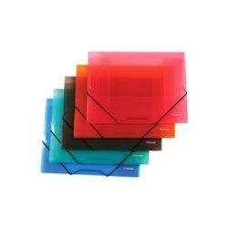 Gumis mappa PP Centrum A/4 vegyes színek