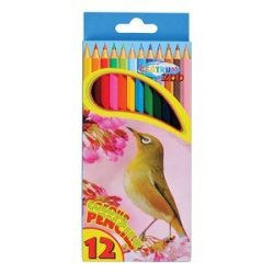 Színes ceruza Centrum 12 db-os klt. Zoo