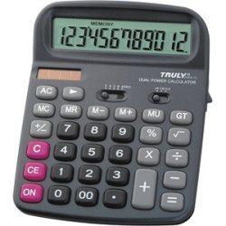 Számológép Truly 836A-12 asztali