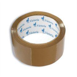 Csomagolószalag, 50mm x 60m, VICTORIA, barna 6 tekercs/csomag (az ár 1 tekercsre vonatkozik)
