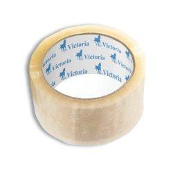 Csomagolószalag, 50mm x 60m, VICTORIA, átlátszó 6 tekercs/csomag (az ár 1 tekercsre vonatkozik)