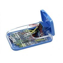 Gemkapocstartó, mágneses, ICO, átlátszó-kék