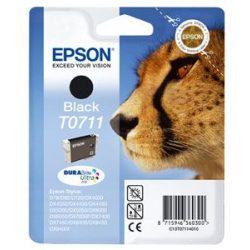 "Tintapatron ""Stylus D78, D92, D120"" nyomtatókhoz, EPSON fekete, 7,4ml"