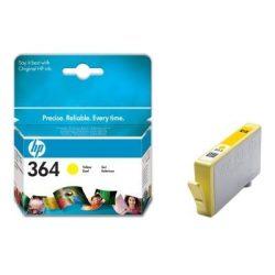 """Tintapatron """"Photosmart C5380, C6380, D5460"""" nyomtatókhoz, HP """"nr364"""" sárga, 300 oldal"""