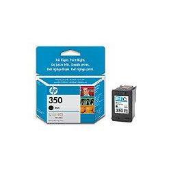 """Tintapatron """"DeskJet D4260, OfficeJet J5780"""" nyomtatókhoz, HP """"nr350"""" fekete, 4,5ml"""