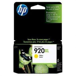 """Tintapatron """"OfficeJet 6000, 6500"""" nyomtatókhoz, HP """"nr920xl"""" sárga, 700 oldal"""