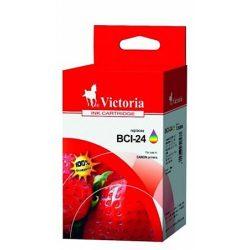 """Tintapatron """"i250, 320, 350"""" nyomtatókhoz, VICTORIA színes, 3*5ml"""
