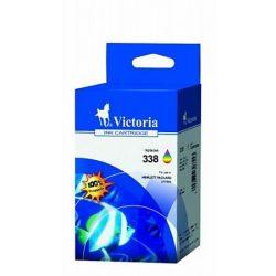 """Tintapatron """"DeskJet D4260, OfficeJet J5780"""" nyomtatókhoz, VICTORIA színes, 18ml"""