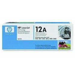 """Lézertoner """"LaserJet 1010, 1015, 1018"""" nyomtatókhoz, HP """"Q2612A"""" fekete, 2k"""