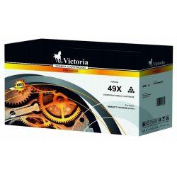 """Lézertoner """"LaserJet 1320, 3390, 3392"""" nyomtatókhoz, VICTORIA fekete, 6k"""