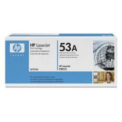 "Lézertoner ""LaserJet P2014, P2015, M2727MFP"" nyomtatókhoz, HP ""Q7553A"" fekete, 3k"