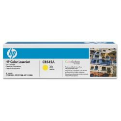 "Lézertoner ""ColorLaserJet CM1300, CP1210"" nyomtatókhoz, HP ""CB542A"" sárga, 1,4k"