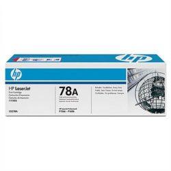 """Lézertoner """"LaserJet P1566, P1606"""" nyomtatókhoz, HP """"CE278A"""" fekete, 2,1k"""