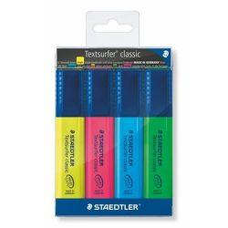 Szövegkiemelő készlet, 1-5 mm, STAEDTLER, 4 különböző szín
