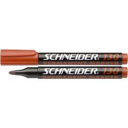 """Alkoholos marker, 1-3 mm, kúpos, SCHNEIDER """"Maxx 130"""", piros"""