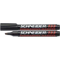"Alkoholos marker, 1-4 mm, vágott, SCHNEIDER ""Maxx 133"", fekete"