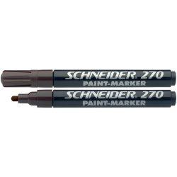 """Lakkmarker, 1-3 mm, SCHNEIDER """"Maxx 270"""", barna"""
