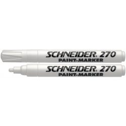"Lakkmarker, 1-3 mm, SCHNEIDER ""Maxx 270"", fehér"