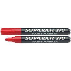"""Lakkmarker, 1-3 mm, SCHNEIDER """"Maxx 270"""", piros"""