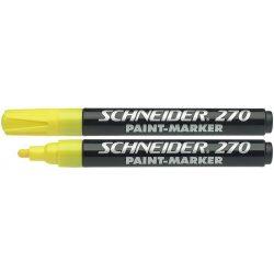 "Lakkmarker, 1-3 mm, SCHNEIDER ""Maxx 270"", sárga"
