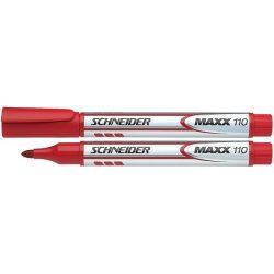 """Tábla- és flipchart marker, 1-3 mm, kúpos, SCHNEIDER """"Maxx Eco"""", piros"""