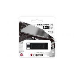 "Pendrive, 128GB, 80 USB-C, KINGSTON ""DataTraveler 70"""