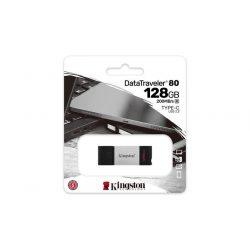 "Pendrive, 128GB, USB-C, KINGSTON ""DataTraveler 80"""