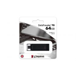 "Pendrive, 64GB, 80 USB-C, KINGSTON ""DataTraveler 70"""