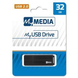 Pendrive, 32GB, USB 2.0, MYMEDIA