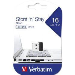 "Pendrive, 16GB, USB 2.0, 10/3MB/sec, VERBATIM ""Nano"""