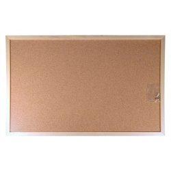 Parafatábla, kétoldalas, 30x40 cm, fa keret, VICTORIA