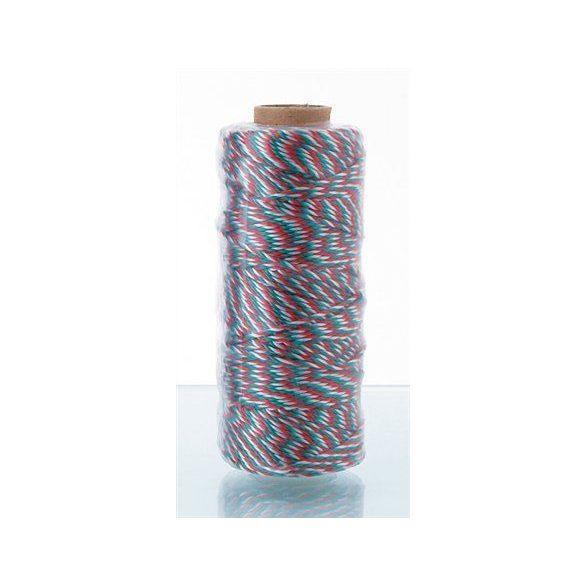 Kötözőzsineg, nemzeti színű, polipropilén, 100m, VICTORIA