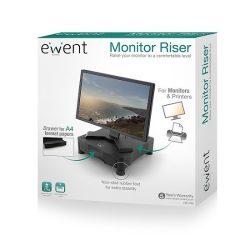Ewent EW1280 monitor magasító fiókkal